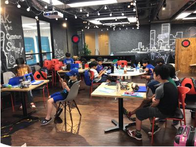 レッスン風景2(ロボットプログラミング教室ロボ団北浦和校)