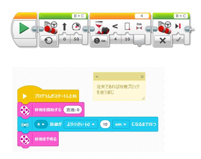レゴマインドストームEV3 新旧ソフトウェアの比較1(EV3LabViewとEV3 Classroom)